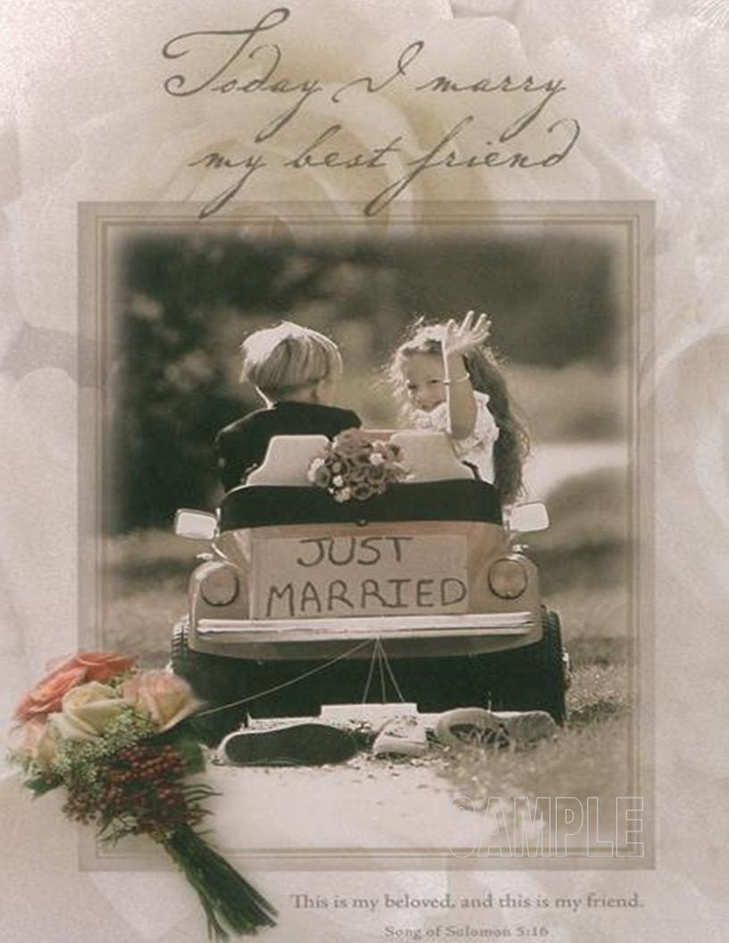 Wedding Just Married Car